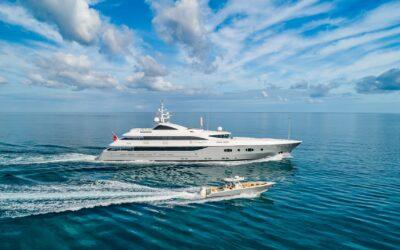 FGI Yacht Group lists 181-foot megayacht Turquoise for sale