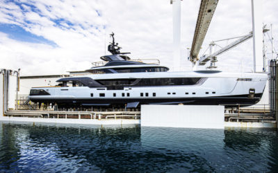 Admiral Yachts launched the 55m yacht Geco