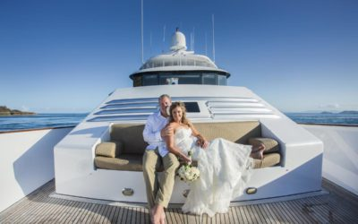 The ultimate yacht wedding